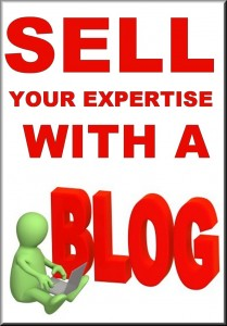 Sell Your Expertise with a Blog - Book Cover